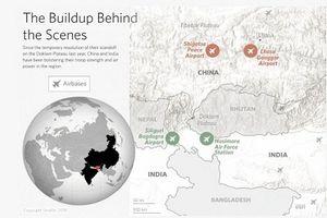 Trung Quốc, Ấn Độ đua nhau xây dựng lực lượng quân sự dọc biên giới