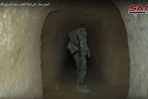 Choáng với hệ thống đường hầm tử thủ của quân thánh chiến Syria ở Đông Ghouta