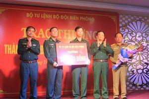 Bộ Tư lệnh BĐBP khen thưởng Ban chuyên án triệt phá đường dây ma túy lớn nhất tại Quảng Trị