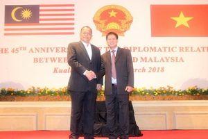 Kỷ niệm 45 năm thiết lập quan hệ ngoại giao Việt Nam-Malaysia
