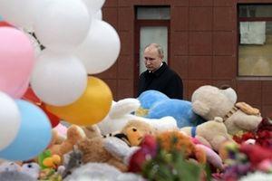Tổng thống Putin đau xót khi biết 41 nạn nhân vụ cháy là trẻ nhỏ
