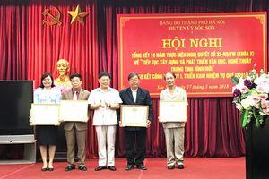 Huyện Sóc Sơn tổng kết 10 năm thực hiện Nghị quyết số 23