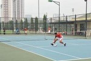 Đội tuyển quần vợt quốc gia tích cực tập luyện trước thềm Davis Cup