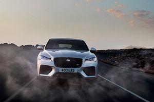 Jaguar F-Pace ra mắt phiên bản nhanh và mạnh nhất