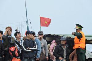 Quảng Ngãi: Bắt 2 đối tượng vận chuyển ma túy ra đảo Lý Sơn