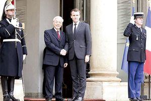Dấu mốc quan trọng thúc đẩy quan hệ đối tác chiến lược Việt Nam - Pháp