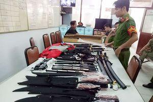 Triệt phá đường dây buôn bán công cụ hỗ trợ, vũ khí thô sơ