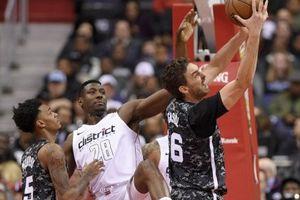 San Antonio 106-116 Washington: Nguy cơ Spurs bật playoff khi LaMarcus Aldridge chấn thương