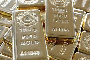 Mỹ-Trung muốn giảm căng thẳng thương mại, giá vàng trượt khỏi đỉnh 5 tuần