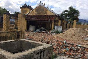 Dự án Lancaster Nam O Resort Đà Nẵng: Chưa được giao đất đã rào đường, rao bán nền