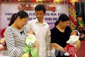 Thái Nguyên: Bệnh viện A đón bé thứ 100 từ phương pháp thụ tinh ống nghiệm