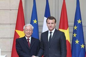 Việt Nam, Pháp cam kết thuận lợi hóa thương mại và đầu tư