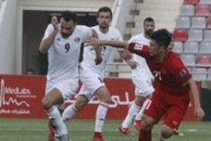 Chia điểm trên sân Jordan, Việt Nam chấp nhận ngôi nhì bảng