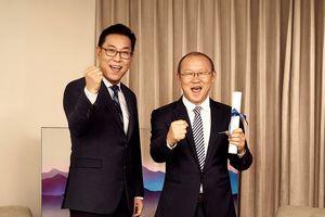 HLV Park Hang Seo làm đại sứ thương hiệu của Samsung Vina