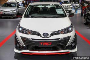 Cận cảnh Toyota Yaris Ativ TRD vừa ra mắt tại Thái Lan