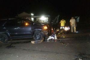 Đắk Nông: Xe ô tô tông xe máy, 3 người thương vong