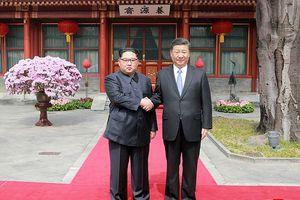 Báo Triều Tiên đưa ảnh chuyến thăm Trung Quốc của vợ chồng ông Kim