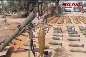 SAA phát hiện căn cứ cất giấu vũ khí của phiến quân ở Đông Ghouta