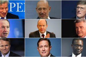 Chân dung 9 CEO hàng đầu Phố Wall năm 2018