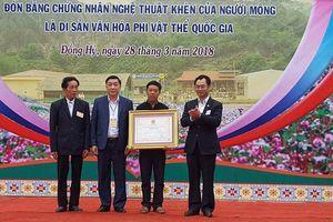 Đồng Hỷ (Thái Nguyên): Đón 'Bằng chứng nhận nghệ thuật Khèn của người Mông là Di sản Văn hóa phi vật thể Quốc gia'