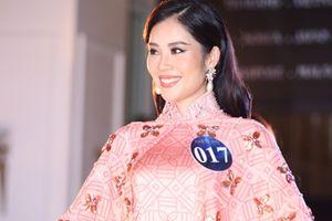 Lộ diện top 5 thí sinh trình diễn áo dài đẹp nhất Người mẫu thời trang Việt Nam