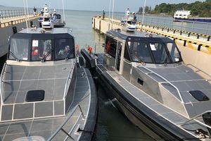 Uy lực xuồng tuần tra Metal Shark vừa được Mỹ chuyển giao cho Việt Nam