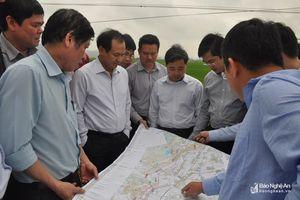 Khảo sát các điểm liên thông trên cao tốc Bắc - Nam đoạn qua Nghệ An