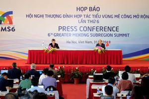 3 thành công nổi bật của Hội nghị Thượng đỉnh Hợp tác Tiểu vùng Mekong mở rộng lần thứ 6