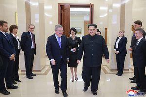Chủ tịch Ủy ban Olympic Quốc tế bay sang Triều Tiên cảm ơn ông Kim Jong-un
