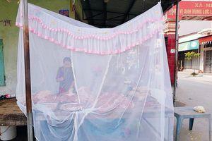 Người phụ nữ quây màn tuyn bán thịt ở Hải Phòng gây 'sốt' cộng đồng mạng