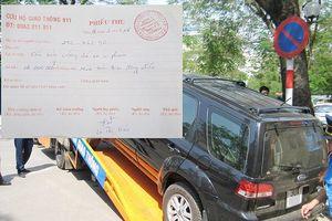 Cảnh sát, Thanh tra gọi xe cẩu kéo với giá 'chặt chém'
