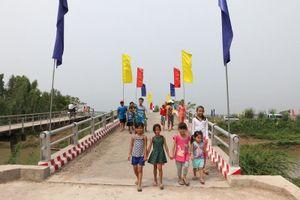 Người dân nghèo Đồng Tháp có thêm 7 cầu nông thôn mới