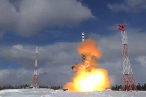 Nga thử tên lửa đạn đạo liên lục địa Sarmat lần 2