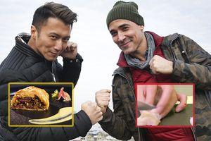 Lỡ cắt đứt tay, 'anh già' cực phẩm Tạ Đình Phong vẫn chiến thắng trận đấu đầu tiên