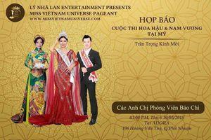' Hoa hậu Việt Nam hoàn vũ' bị tuýt còi vào giờ G