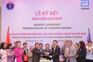 Triển khai dự án cấp quốc gia đầu tiên trong phòng ngừa và quản lý đái tháo đường thai kỳ