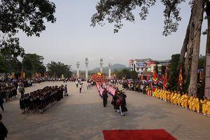 Vĩnh Phúc: Khai hội Tây Thiên 2018 - Linh thiêng hội tụ - tưởng nhớ Quốc mẫu Lăng Thị Tiêu