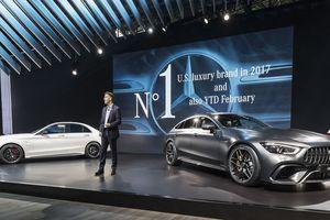 Mercedes-AMG GT Coupe 4 cửa đến Mỹ