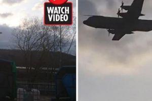 Kỳ lạ: Máy bay rơi 70 năm trước bất ngờ xuất hiện trên bầu trời?