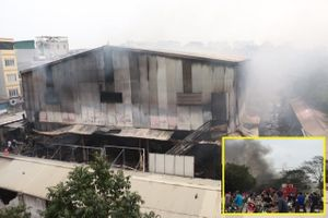 Cháy lớn tại chợ Quang thiêu rụi nhiều gian hàng: Sẽ công bố nguyên nhân vào ngày 1/4