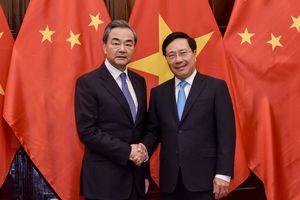Phó Thủ tướng Phạm Bình Minh hội đàm với Ngoại trưởng Trung Quốc Vương Nghị