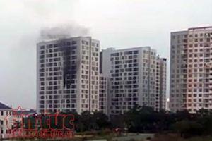 Cháy căn hộ chung cư Parcspring, hàng trăm cư dân một phen khiếp vía