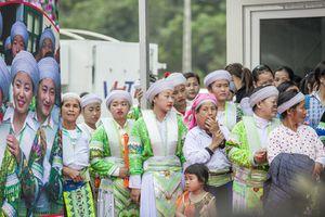 Sắc màu dân tộc Mông trong 'Ngày hội Văn hóa - Thể thao dân tộc'