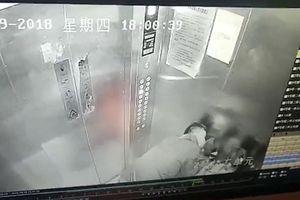 Phẫn nộ: 'Yêu râu xanh' cưỡng hôn hai bé gái trong thang máy