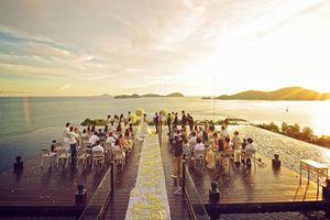 Những địa điểm tổ chức cưới nghe xong đã thấy chất phát hờn