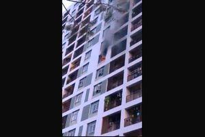 Căn hộ ở chung cư Parc Spring bốc cháy khi chủ đi vắng