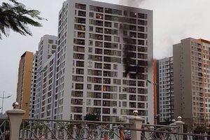 Thông tin mới về vụ cháy chung cư ParcSpring ở quận 2