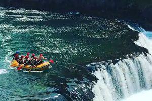 Màn du ngoạn vượt thác 'thiên đường' Kravica ở Bosnia