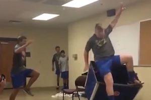 Những màn tập nhảy cao 'lỗi' nhất chỉ có trong trường học Mỹ