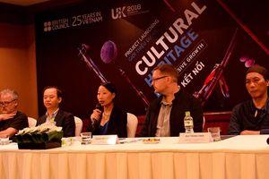 Ra mắt dự án Di sản kết nối văn hóa Việt Nam – Anh quốc